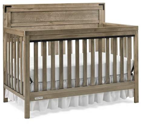 Paxton 4-in-1 Convertible Crib - Vintage Gray