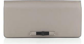 Gucci Lady Bamboo Clutch Leather Long