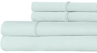 Ella Jayne Luxe Crisp & Cool 300-Thread Count Cotton Percale 4-Piece Bedding Set