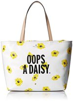 Kate Spade Down the Rabbit Hole Oops-A-Daisy Francis Tote Bag