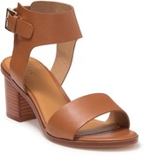 Joie Bea Leather Block Heel Sandal