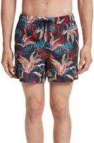 Moncler Floral Print Swim Trunks