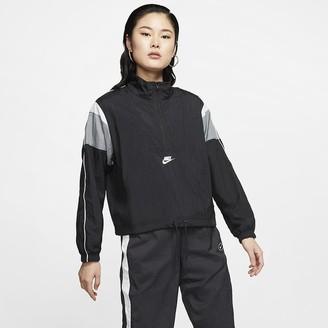 Nike Women's Woven Jacket Sportswear Heritage