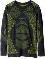 Spyder Racer Long Sleeve Top (Little Kids/Big Kids)
