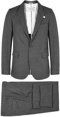 Oliver Spencer Grey Cotton Suit
