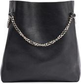 Jil Sander Chain-link leather shopper bag
