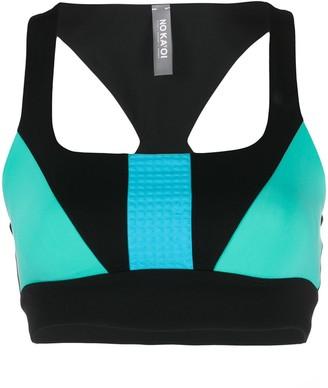 NO KA 'OI No Ka' Oi colour-block sports bra