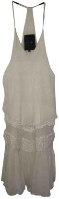 Jay Ahr Beige Silk Dress for Women