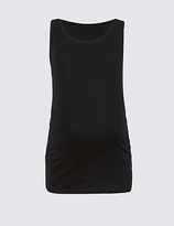 Marks and Spencer Maternity Cotton Vest Top with Stretch