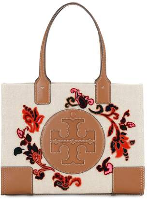 Tory Burch MINI ELLA FIL COUPE & LEATHER TOTE BAG