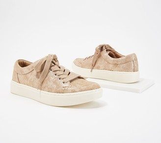Sofft Lace Up Leather Fashion Sneakers -Sanders