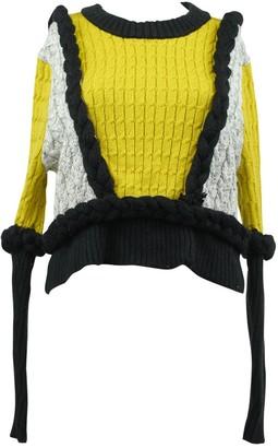 For Love & Lemons \N Yellow Cotton Knitwear for Women