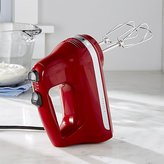 Crate & Barrel KitchenAid ® Empire Red 5-Speed Hand Mixer