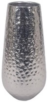 Threshold Textured Vase Silver Large