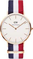 Daniel Wellington Classic Cambridge 40mm Rose Gold Watch