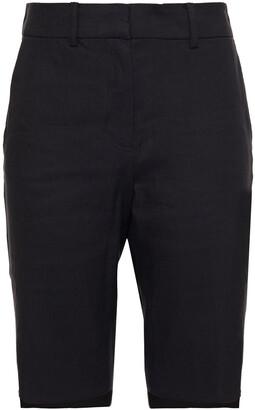 Frame Linen-blend Shorts