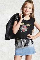 FOREVER 21 girls Girls Bon Jovi Top (Kids)