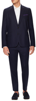 Paul Smith Wool Solid Tailored Fit 2-Button Suit