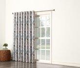 Sun Zero 48019 Kara Room Darkening Energy Efficient Grommet Patio Door Curtain Panel