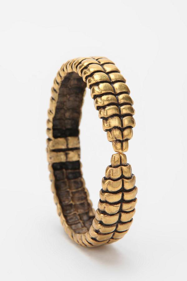 Urban Outfitters A Peace Treaty Akna Gold Bracelet