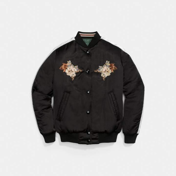 Coach New YorkCoach Magnolia Souvenir Puffer Jacket