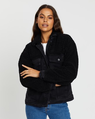 All About Eve Assemble Teddy Jacket