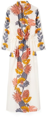 Tory Burch Printed Long Caftan