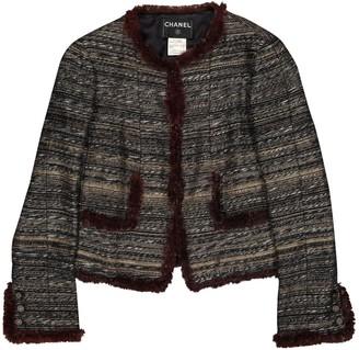 Chanel Grey Tweed Jackets