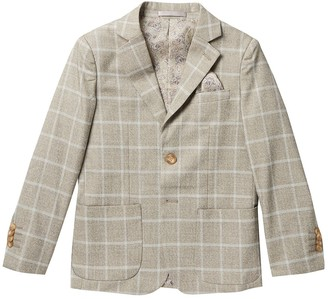 Isaac Mizrahi Classic Check Blazer (Toddler, Little Boys, & Big Boys)
