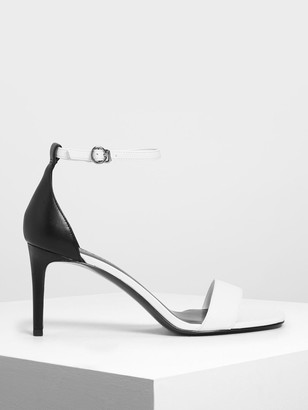 Charles & Keith Classic Ankle Strap Heels