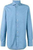 Ermenegildo Zegna pointed collar long sleeved shirt - men - Cotton - S