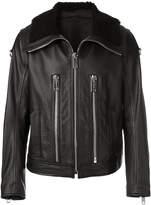 Les Hommes shearling jacket