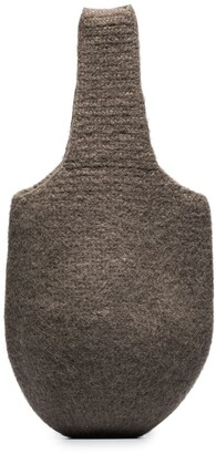 LAUREN MANOOGIAN Knitted Style Tote Bag