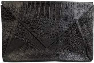 Fendi Black Leather Clutch bags