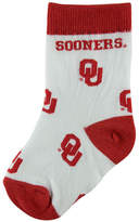 For Bare Feet Babies' Oklahoma Sooners Socks