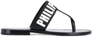 Philipp Plein TM flat sandals