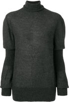 Lemaire layered sleeve sweater