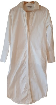 Finders Keepers White Cotton Dress for Women
