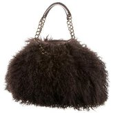 Christian Louboutin Fur Shoulder Bag
