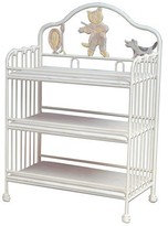 The Well Appointed House Cat and the Fiddle Baby Changing Table and Shelves
