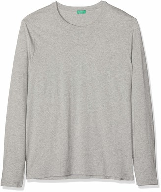 Benetton Men's Basico 1 Man Long Sleeve Top