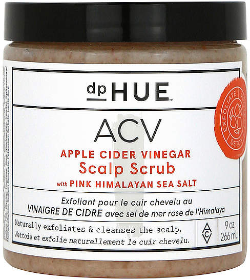 dpHUE Apple Cider Vinegar Scalp Scrub with Pink Himalayan Sea Salt