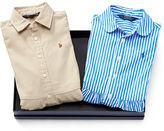 Ralph Lauren 7-16 Shirtdress 2-Piece Gift Set
