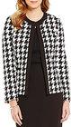 Preston & York-preston york madison round neck ponte jacket