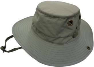 HDUK Summer Hats Men's Wide Brim Aussie Safari Hat with Adjustable Cord/Available in Stone or Khaki and 4 Sizes (Small - 58 cms
