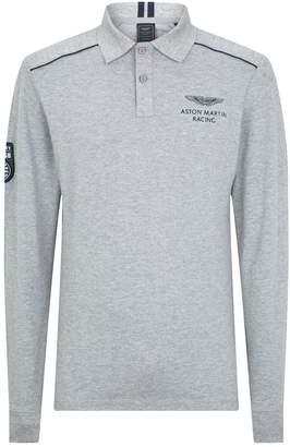 Hackett x Aston Martin Padded Polo Shirt