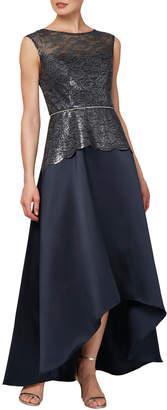 Ignite Lace-Bodice Gown