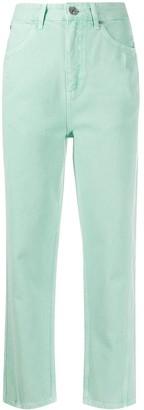 Sandro Paris Straight-Leg Cropped Jeans