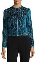 Yigal Azrouel Velvet Burnout Jacket
