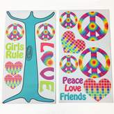 One Grace Place 10-34045 Terrific Tie Dye-Wall Decals